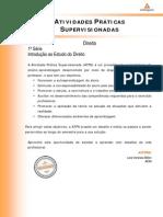 ATPS 2014 - 1 - Direito 1 Introducao ao Estudo do Direito (1).pdf
