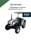 Manual Mantenimiento y Operación Tractores 25hp
