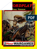 Swordplay fantasy skirmish