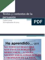 Textos y Contextos de La Persuasión (1)
