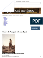 Guerra Do Paraguai_ 150 Anos Depois - Cafe Historia