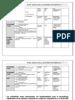 Plan Anualciencias Academia