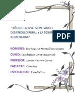 Practica N_ 1 Estadistica Iris Susana Montalban