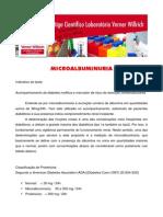 Micro Albuminuria