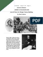 America's Railroads and Dirigist Nation-Building