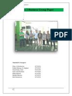 Group Paper 1C DG 6 About PT Wafiq Mitra Teknik Observation