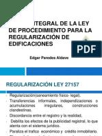 Regularización Julio 2012