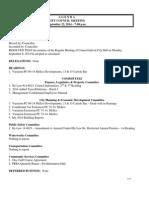 September 22, 2014 Council Agenda Website