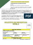 Solicitud de Inscripción Nivel 2