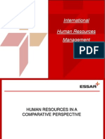 International Human Resources Management Human Resources in a Comparative Prespective 3586