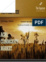 Daily Agri News Letter 24 Sep 2014