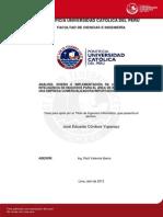 Cordova Jose Solucion de Inteligencia Negocios Empresa Comercializadora Importadora