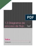 1.3 Diagrama de Proceso de Flujo