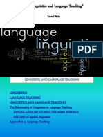 Linguistic Language Teaching