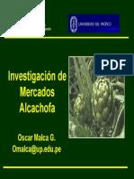 Alcachofa Oscar Malca Up