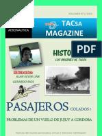 TACsa Magazine N°1