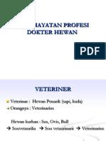 penghayatan profesi veteriner