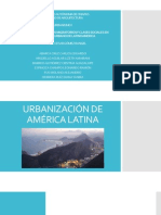 Urbanizacion, Procesos Migratorios y Clases Sociales