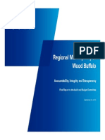Accountability, Integrity and Transparency - Wood Buffalo audit