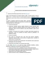 Orientaciones Para La Producción de CED