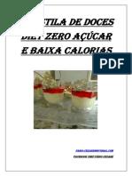 Apostila de Doces Diet Zero Açúcar e Baixa Calorias