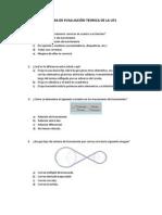 Prueba de Evaluación Teorica de La Uf1