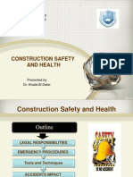 Construction Safety Lecture 3
