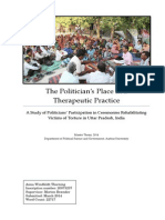 The Politician's place in Therapeutic Practice