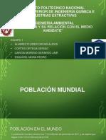 Poblacion y Su Relacion Con El Medio Ambiente