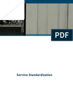 Service Standardization