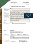 Behavior of Feeding in Guppy Poecilia Reticulata