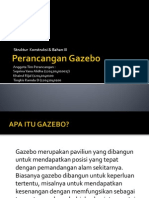 Perancangan Gazebo