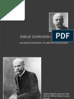 Emilie Durkheim (1858-1917)