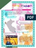Cultura Tallán Informe