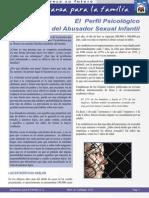 Abusador Sexual Infantil