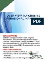 OVER VIEW OPERASIONAL INACBG 4.0-Edited 09 Des 2013 Mas Sis Dan Haidar Edited