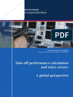 ATSB Take-Off Performance Calculation and Entry Errors