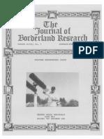 Journal of Borderland Research - Vol XLIII, No 1, January-February 1987