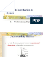 1.1-1.2 Introduction to Physics