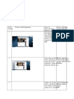Detailed Story Board