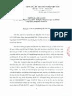 Thông Cáo Báo Chí Công ty CP Đầu tư Đèo Cả 24092014