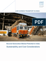 Second-Generation Biofuel Potential in India