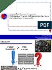 ADBTF14_A1 Philippine Transit Information Service