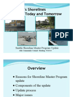 Seattle Shoreline Master Program Update
