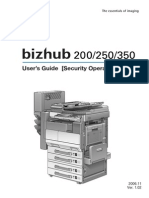 User Guidetee Security Operation Bizhub 350 250 (1)