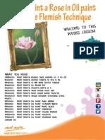Lesson Flemish Rose