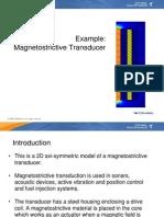 Magnetostrictive Transducer 1