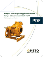 KETO Pumps K-HS Product Brochure_French