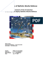 The Essence of Ballistic Missile Defence