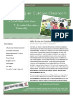 Outdoor Classroom Newsletter FINAL COPY
